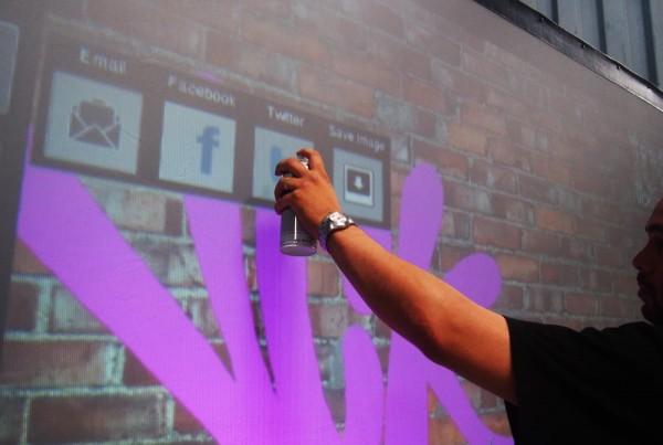 Direkter Anteil auf Social Media